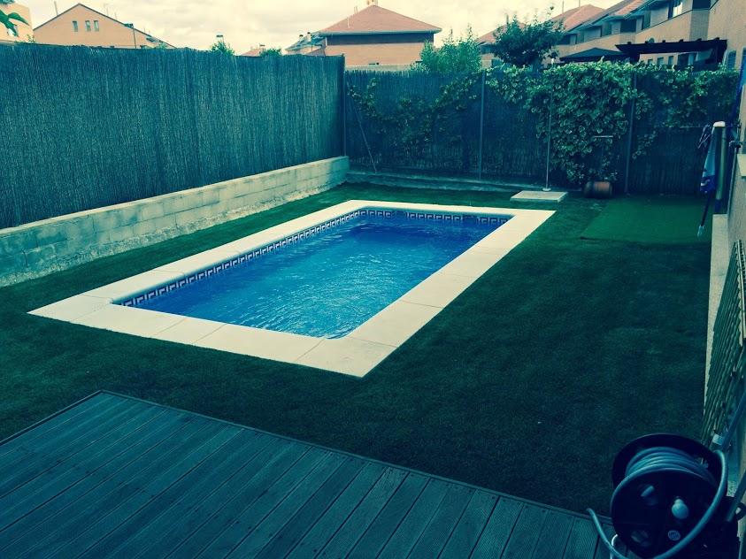 Galer a de obras de piscinas en madrid y toledo cristayl - Piscinas de obra madrid ...
